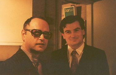 Roberto e S. Bussotti - (IRCAM) Parigi, 1984.jpg