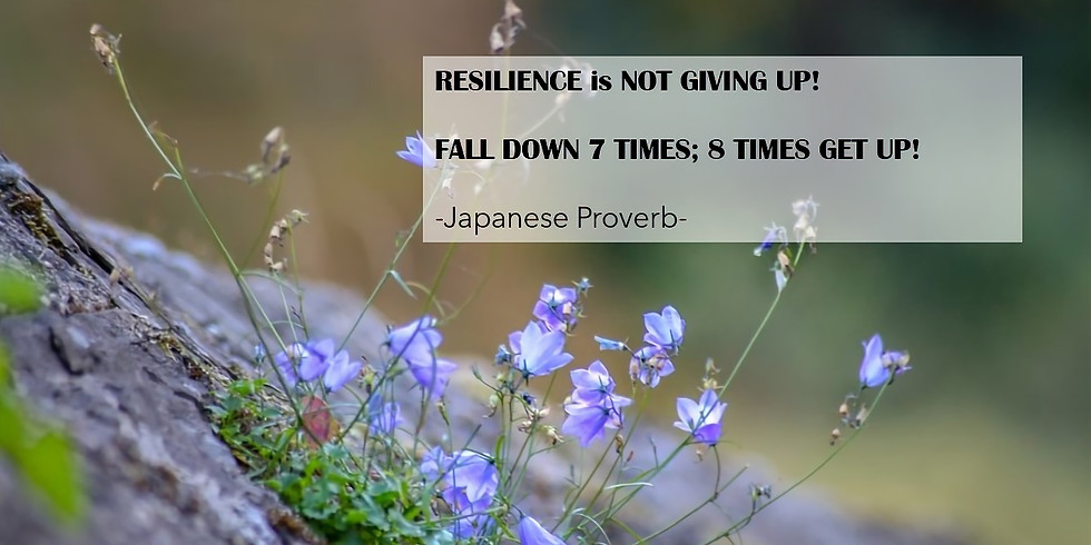 RESILIENCE - TICK TOCK LUNCH HOUR TALK