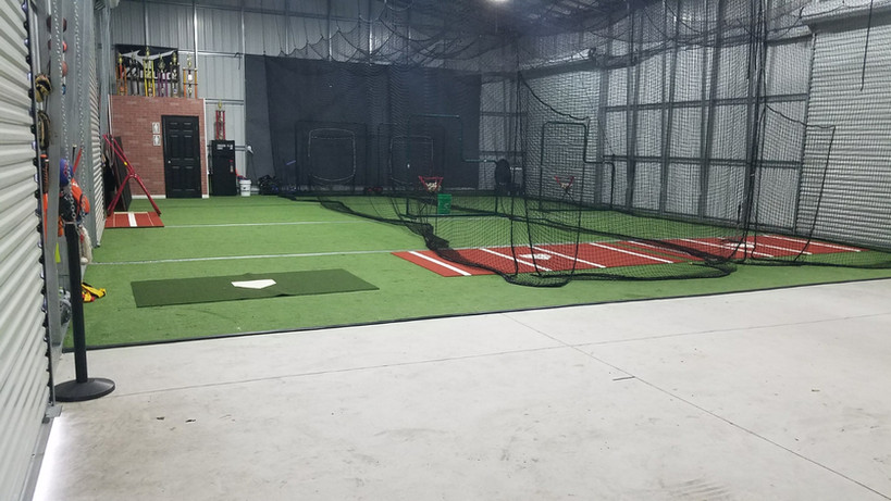 Bono Baseball Cages & Bullpen Area