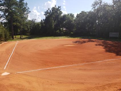 Outdoor practice infield