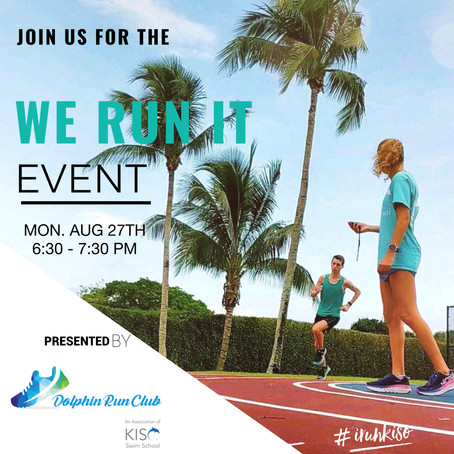 We Run It Event!