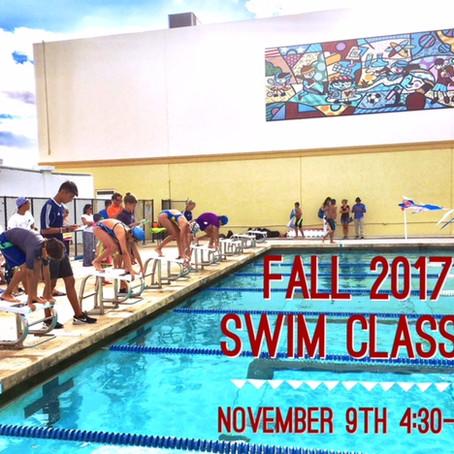 Fall 2017 Swim Classic