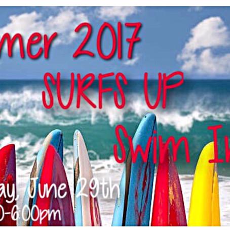 Summer 2017 SURFS UP Invite