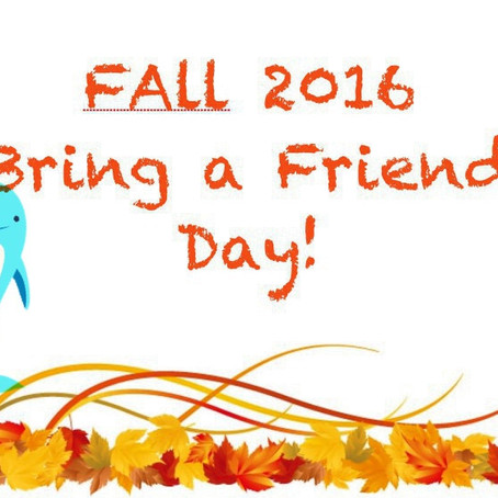 Feed Your Fall Appetite - Bring a Friend Day