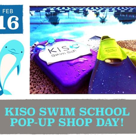 KISO Swim School Pop-Up Shop