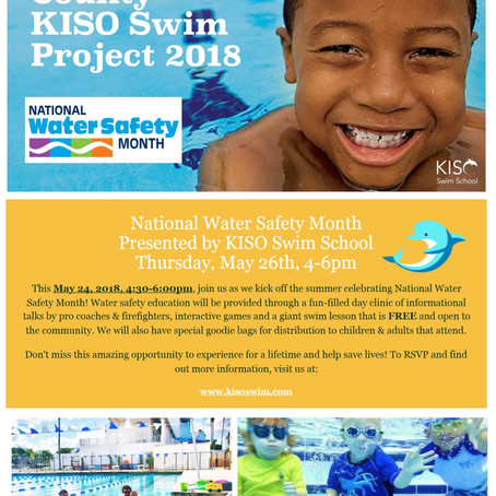 Broward County KISO Swim Project 2018
