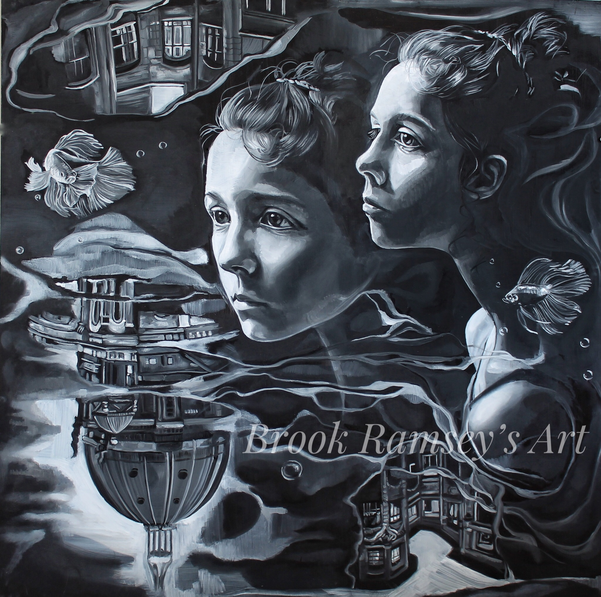 "Realm Of Reflection 48""-48"""