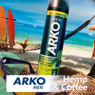 ARKO Men Hemp & Coffee