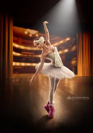 Балерина в уггах