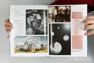 My artwork in magazine