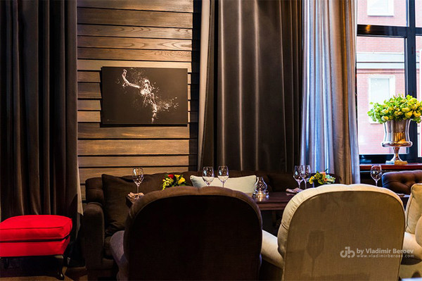 BLACK PASSION in Moscow's restaraunt SHELK
