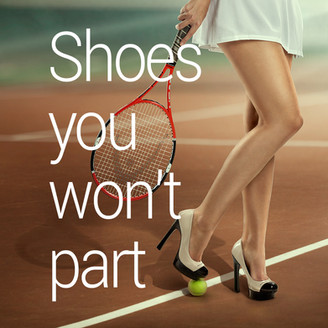Shoes you won't part