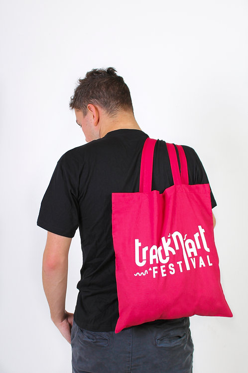 Tote bag Track'N'Art