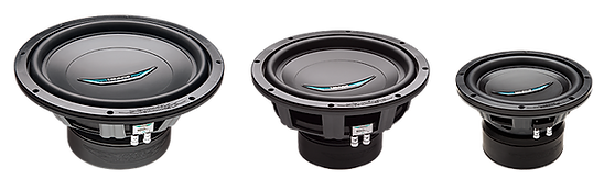 IDQ Subwoofers have become the  quintessential sound quality  subwoofer. Developed to provide incredible dynamic impact while attaining extremely low frequency extenstion and brilliantly defined tonal accuracy in even the  smallest of enclosures. It is no wonder why  the  IDQ series has been the  winning choice of sound quality champions and competitors for well  over a decade.