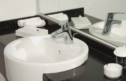 Jackman Plumbing--bathroom sinks