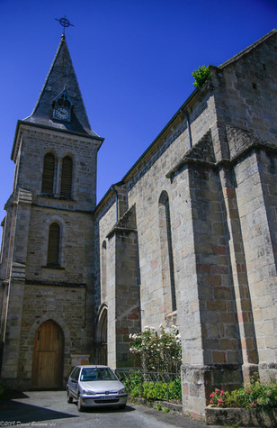 Village Church, Peyrat le Chateau