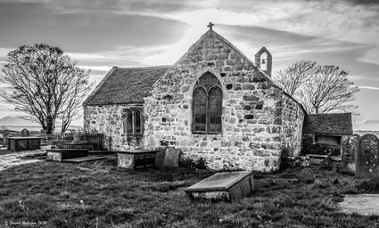 St Baglan's Church, Llanfaglan.