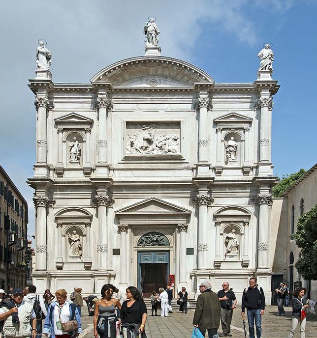 The Church of Saint Roch - Venice