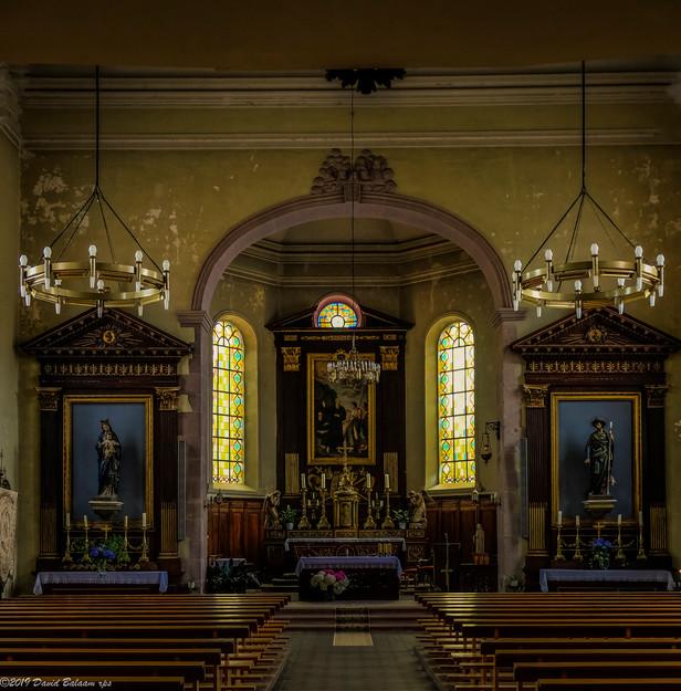Eglise St Gall, Niedermorschwihr