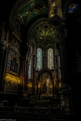 La Basilique Notre Dame de Fourviere, Lyon