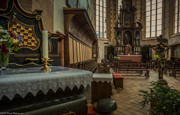 St.Martins Kirche, Oberwesel
