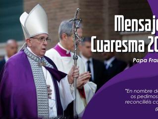 Mensaje del Santo Padre para la Cuaresma