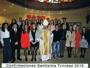 Confirmaciones en Calahorra (Santísima Trinidad)