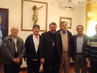 Encuentro de FERE con nuestro obispo