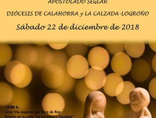 Encuentro de Navidad: 22 de diciembre