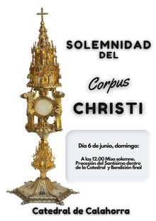 Corpus Christi y Día de la Caridad