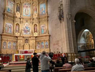 La Catedral de Calahorra estrena iluminación e inaugura la Sala Capitular