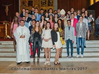 Confirmaciones en la Parroquia Santos Mártires de Calahorra