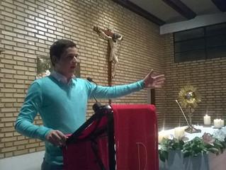 Oración de los Jóvenes en Calahorra