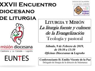 XXVI Encuentro de Liturgia: 9 de febrero