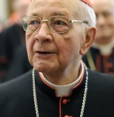 Fallece el cardenal riojano, Eduardo Martínez Somalo
