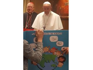 D. Carlos nos envía las primicias del encuentro de Acción Católica con el Santo Padre en Roma esta m