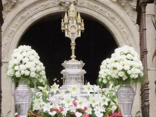 Festividad del Corpus Christi: 23 de junio