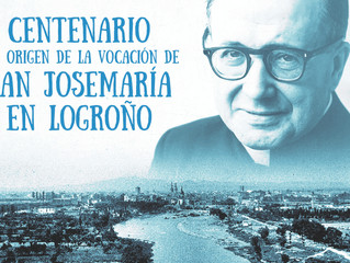 Centenario de las Huellas de San Josemaría Escrivá