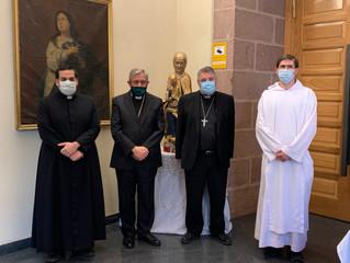 La orden benedictina dona a la Diócesis de Calahorra y La Calzada-Logroño, el monasterio de Valvaner