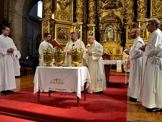 Primera Misa Crismal presidida por D. Carlos en tierras riojanas