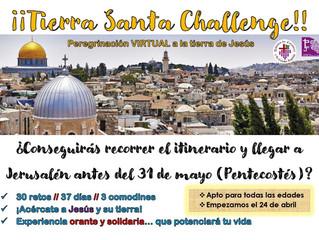 Tierra Santa Challenge: ¡Apúntate!