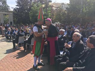 San Mateo y ofrenda del primer mosto a la Virgen de Valvanera