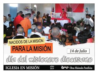 Día del Misionero Diocesano: 14 de julio
