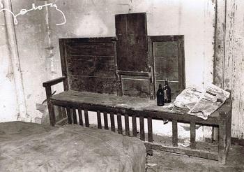 Escaño típico casa de los pobres
