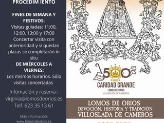 Las visitas guiadas en la ermita de Lomos de Orios, una actividad cultural para conocer mejor la his