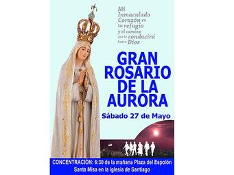 Resultado de imagen de gran rosario de la aurora logroño