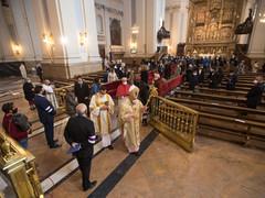 Galería de fotos: Toma de Posesión de Mons. Carlos Escribano como arzobispo de Zaragoza