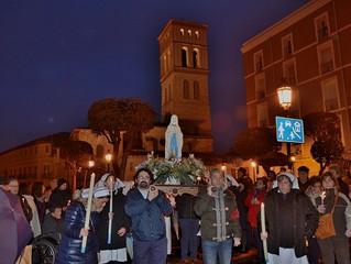 Ntra. Sra. de Lourdes: Jornada Mundial del Enfermo