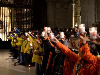Luz de la Paz de Belén: Galería de Fotos