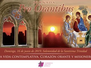 Jornada Pro Orantibus: 16 de junio